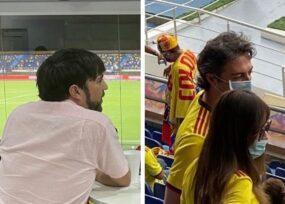 Quintero no fue el único invitado por el alcalde de Barranquilla al partido de la Selección