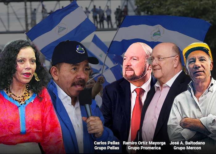 Los cinco empresarios que frentean a Daniel Ortega en Nicaragua