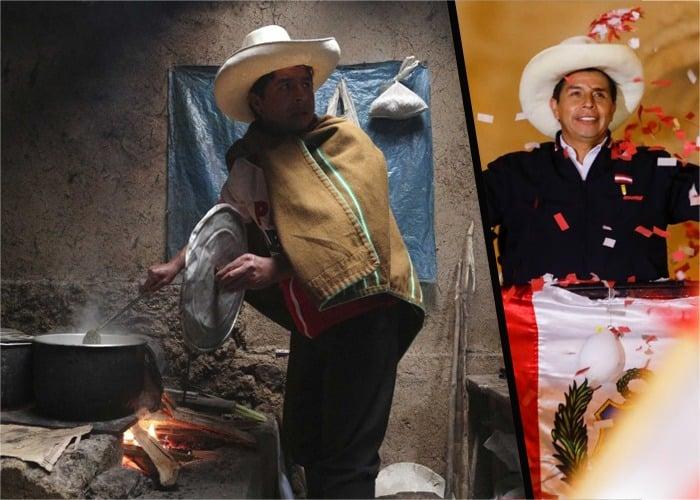 Pedro Castillo, el maestro de la izquierda que conquistó a Perú