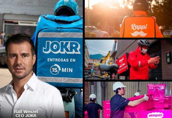 Se calienta la pelea por los domicilios: aterriza Jokr con entregas en 15 minutos