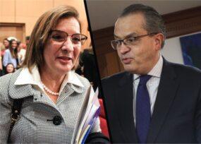 Margarita Cabello y Fernando Carrillo: enfrentamiento por archivar investigación contra militares