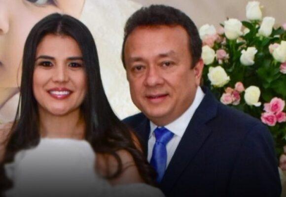 Las esposas de Eduardo Pulgar, su salvavidas político