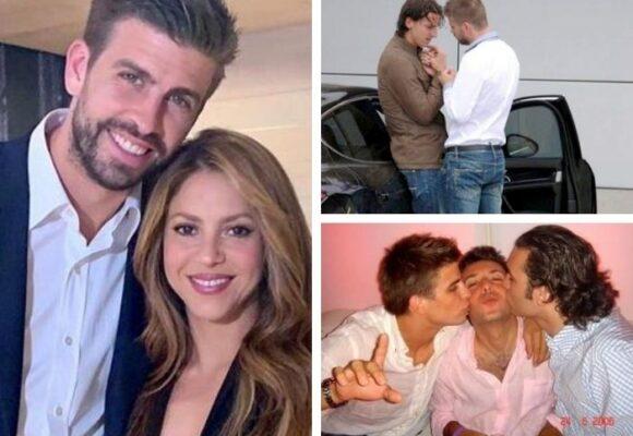 La comprometedora foto con Zlatan que Piqué nunca le pudo explicar a Shakira