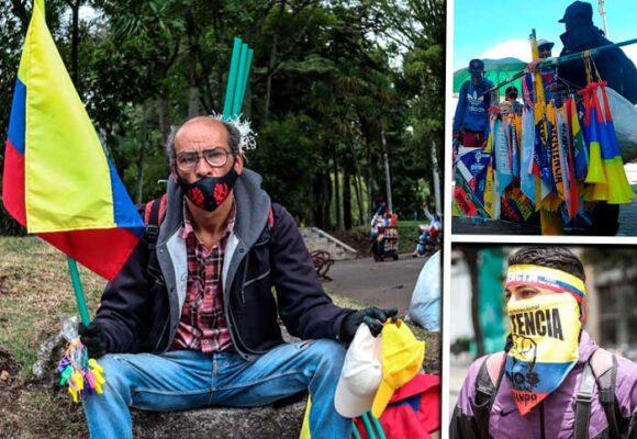 Hasta $500 mil puede hacerse un vendedor ambulante en una marcha