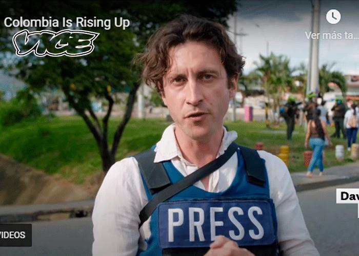 Los temerarios periodistas detrás del documental gringo en Siloé