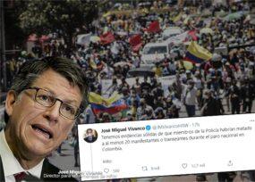 Los 20 muchachos muertos en las protestas, confirmados por Vivanco