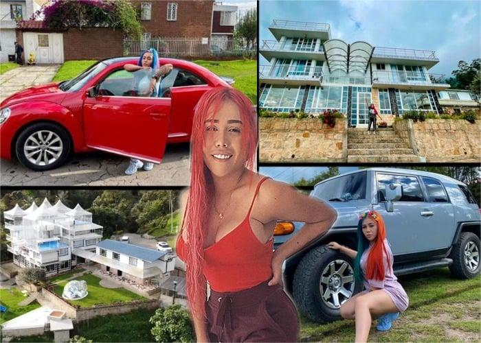 Los negocios que llenaron de plata y lujos a Yina Calderón