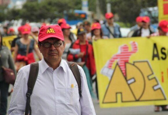 Falleció el presidente de la Asociación Distrital de Educadores, William Agudelo