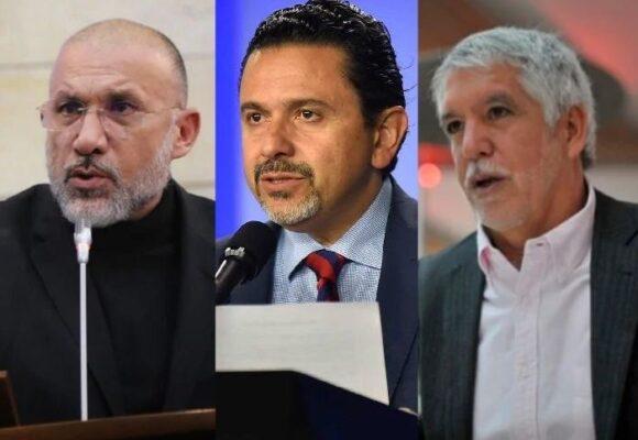 Cuatro políticos a recoger firmas para pelear la presidencia en el 2022