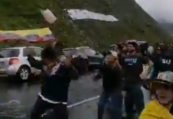 Los insultos a Uribe en el Tour de Francia