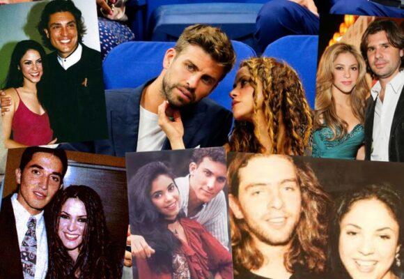 Cinco amores que tuvo Shakira antes de conformarse con Piqué