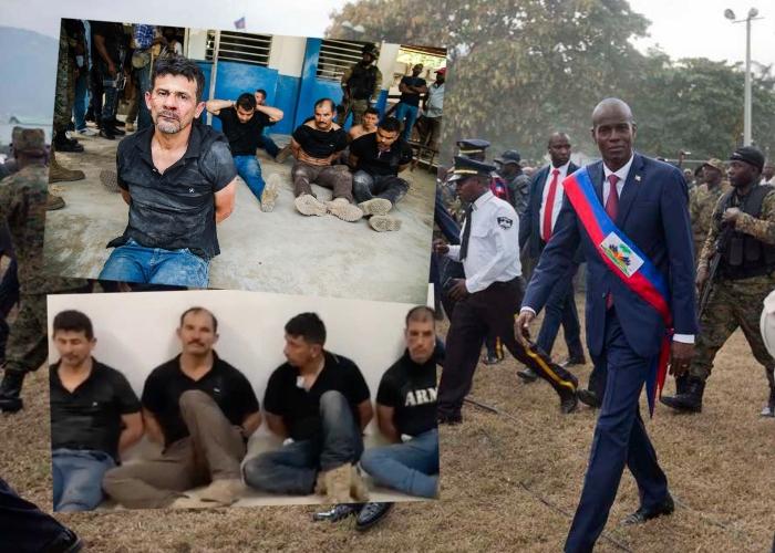 26 exmilitares colombianos involucrados en asesinato del Presidente de Haití  - Las2orillas