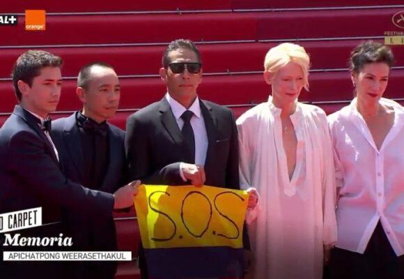 Hasta a la alfombra roja de Cannes llegan las protestas del Paro Nacional