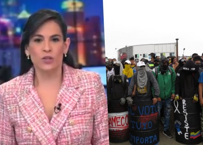 El odio de Noticias RCN con los encapuchados