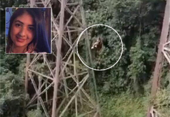 VIDEO Joven paisa se mató al saltar en bungee jumping