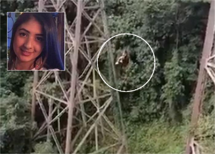 VIDEO Joven paisa se mató al saltar en bungee jumping - Las2orillas