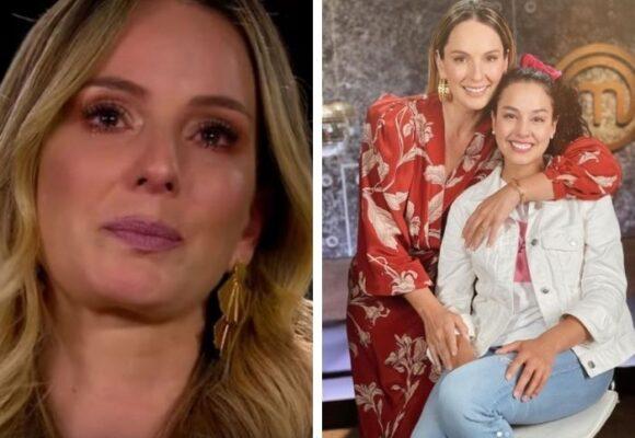 El llanto de Claudia Bahamón en MasterChef por la salida de Ana María Estupiñán