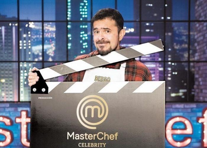 La tremenda quemadura de Diego Camargo por hacer un plato en MasterChef Celebrity