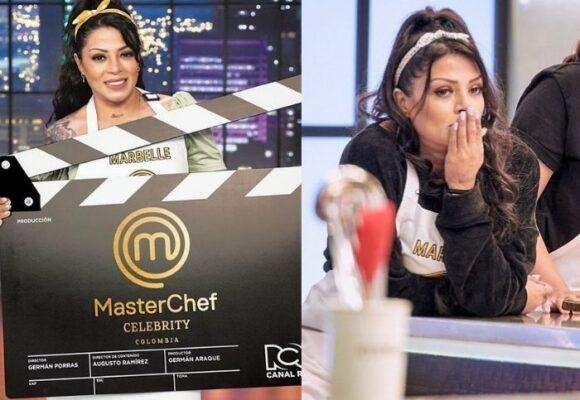 Los momentos amargos de Marbelle en MasterChef Celebrity