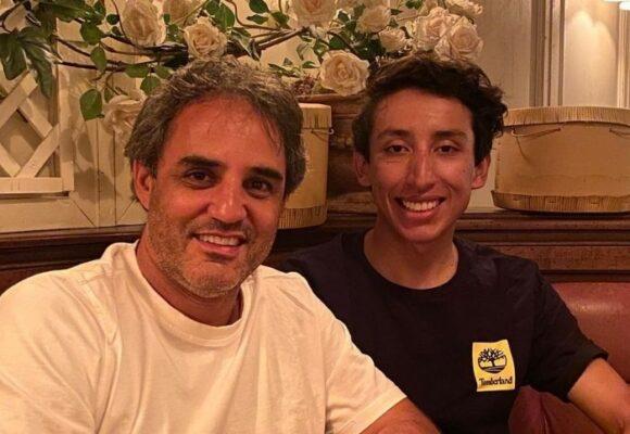 Los dos más grandes deportistas colombianos comparten mesa en Mónaco