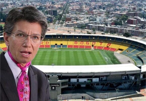 Claudia López se la juega con partido Santa Fe vs. Nacional para el regreso del fútbol, conciertos y eventos