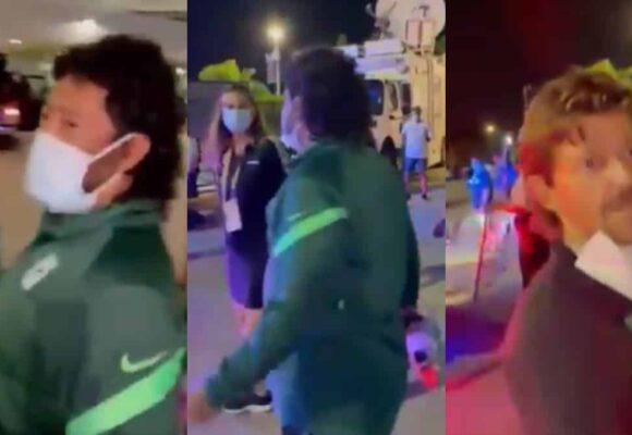 VIDEO: Hinchas de Millonarios agreden a René Higuita en Miami