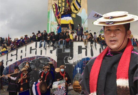 El Tata Miguel Tumiñá que mantiene unidos a los Misak en Bogotá