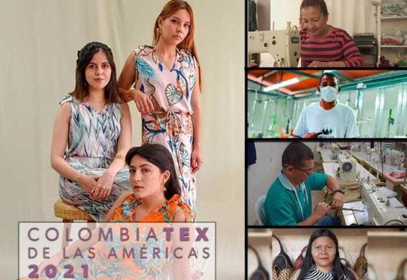 Los cuatro exFarc que pisan duro en Colombiatex en Medellín