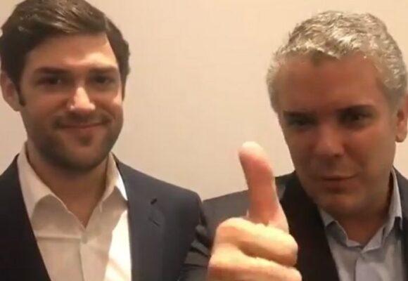 El video que relaciona a Duque con socios del reclutador de mercenarios en Haití