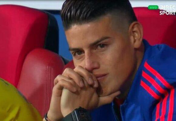 James ya se siente más afuera que dentro de la Selección Colombia