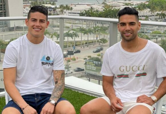 No nos metamos mentiras, Falcao y James están listos para jugar en la MLS