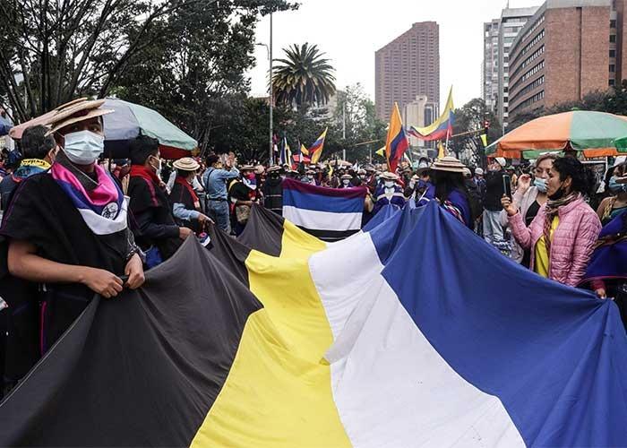 Misak en Bogotá