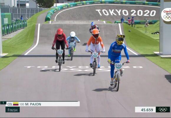 Hizo lo que se le dio la gana: Mariana Pajón a paso firme por su tercer oro olímpico