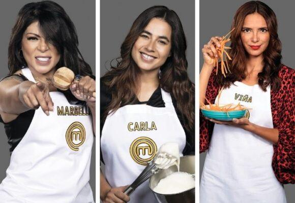 Carla Giraldo pelea hasta con sus íntimas amigas: Marbelle y Viña Machado