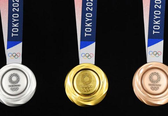 Las medallas olímpicas se hicieron con celulares y computadores reciclados