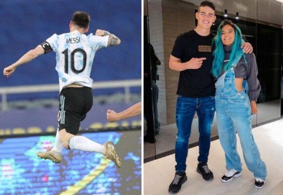 Ojalá James tuviera el profesionalismo de Messi