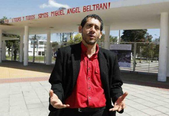 Detienen de nuevo al profesor Miguel Angel Bernal en Ciudad de México