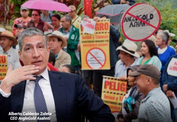 El colombiano Alberto Calderón, cabeza de Ashanti Gold, a frentear el lío de la mina Quebradona