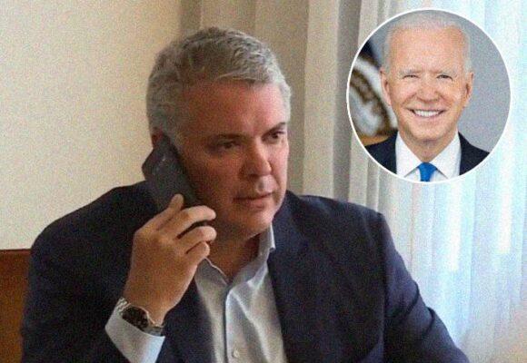Duque cumplió por fin su fantasía: recibir una llamada de Biden