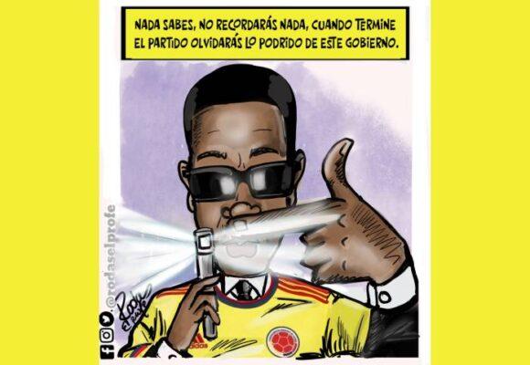 Caricatura: ¡Que el fútbol no le borre la memoria!