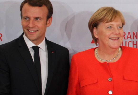 El eje franco-alemán se acerca a Rusia y China