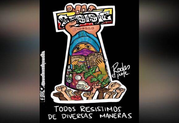 Caricatura: Somos resistencia