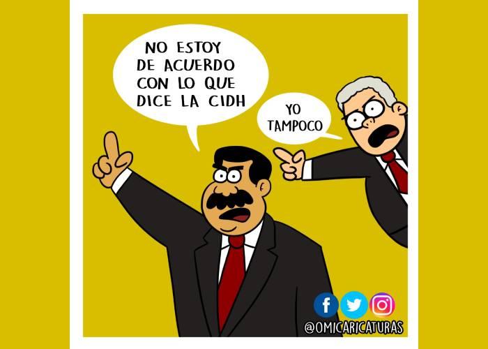 Caricatura: Otro punto común para Maduro y Duque