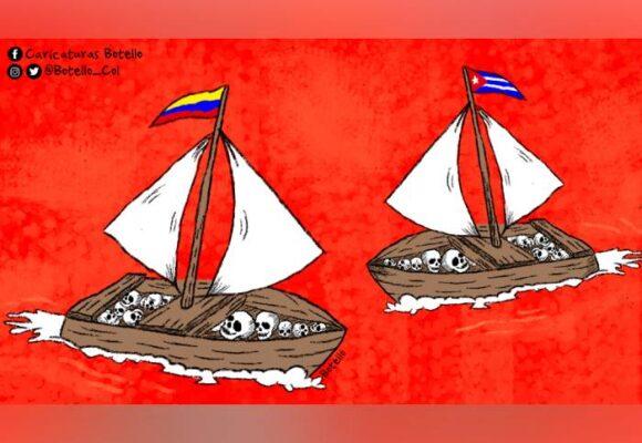 Caricatura: Dictaduras