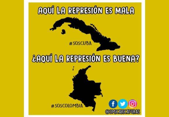 Caricatura: ¿Cuándo es mala la represión?