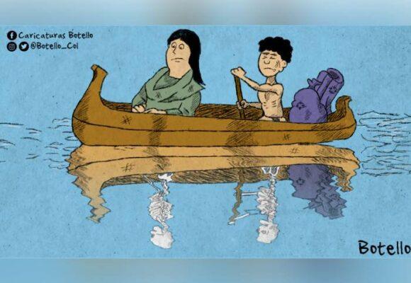 Caricatura: Desplazados
