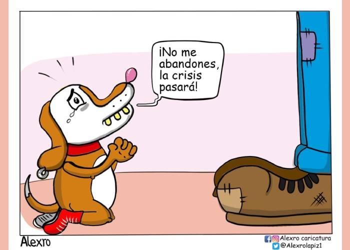 Caricatura: No los abandones