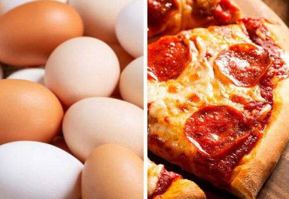Crónica de una muerte anunciada: el huevo y la pizza