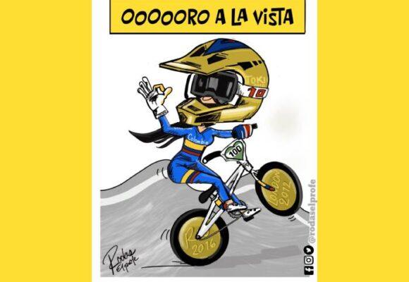 Caricatura: ¡Vamos por la de oro!