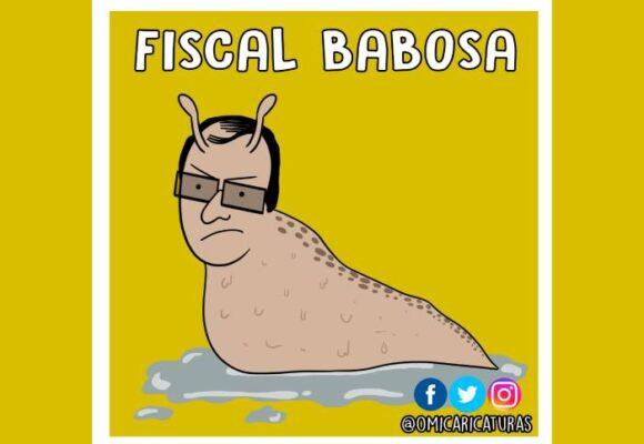 Caricatura: Ahí va el fiscal